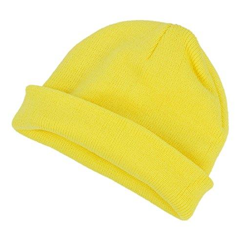 SODIAL(R) Gorra para ninos dulzura Sombrero de Nina Sombrero gorroe Sombrero de Punto para Chicas Bebe ninos Cafe