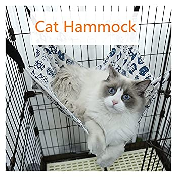 LiuQ Hamac pour Chats Hamac de Pet Souris de Coton Coton Cochon Cochon Cat Suspension de Chat pour Chats Rongeurs hamac pour Hamster Animaux de Compagnie Fournitures Hamacs de Couchage et de Repos