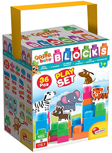 Lisciani Jeux Educatifs-57696-Carotina Baby Tower Game 57696