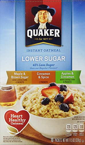Quaker Instant Oatmeal Variety Pack 10 Ct