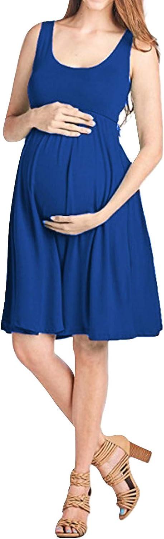 /Él/égante Id/éale pour les loisirs et les soir/ées. Love2Mi Robe sans manches pour femme enceinte