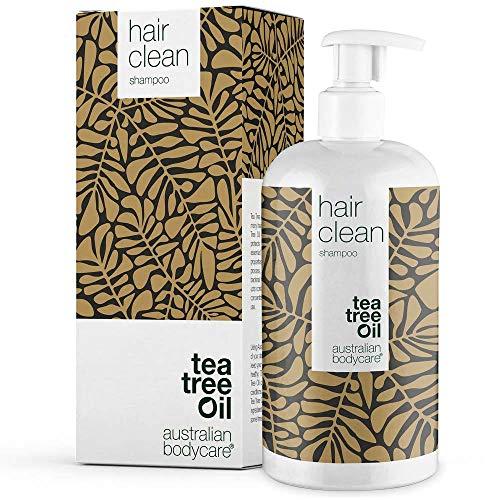 Australian Bodycare Teebaumöl Shampoo 500 ml   Anti-Schuppen, Juckende, Trockene Kopfhaut   Auch zur Kopfhautpflege bei Schuppenflechte, Ekzemen, Neurodermitis & Pickeln auf der Kopfhaut   100{a9b37eea8de6c7e60ddf618a46fb9dab5f1cb4999c8f48e8efc5870ec28d9fbd} Vegan