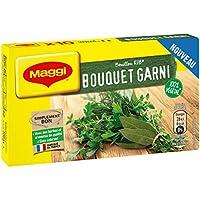 Laissez-vous surprendre par le goût intense en herbes de votre bouillon bouquet garni - Des ingrédients de qualité pour un produit simplement bon. - Un goût intense et cuisiné qui relèvera tous vos plats en un seul geste - 100% végétal (ne contient p...
