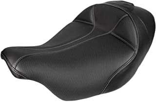 Saddlemen - 808-07B-0042 - Dominator Solo Seat with Backrest Option
