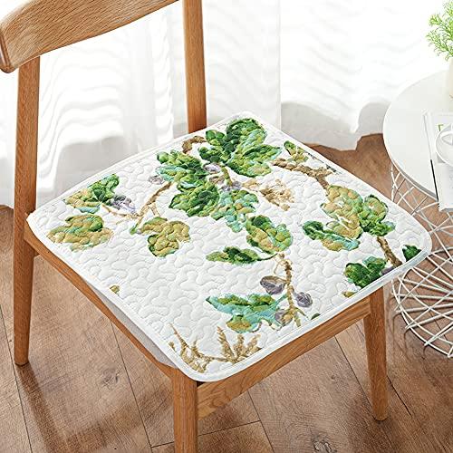 H·Aimee Cojines de Asiento Acolchados para sillas de Asiento para Interiores y Exteriores,jardín,Patio,Cocina y Oficina 40x40cm/45x45cm/50x50cm