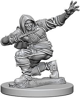 WizKids Pathfinder: Deep Cuts Unpainted Miniatures: Human Male Rogue