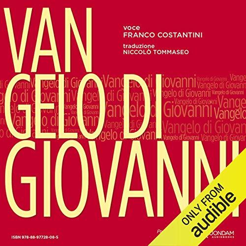 Vangelo di Giovanni [St. John's Gospel] audiobook cover art