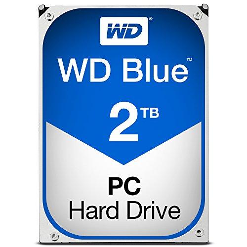 'Hard Disk Interno–WD Blue 2TB SATA 6GB/s 64MB–Hard Disk 3.52TB 5400RPM 64MB Serial ATA 6GB/s–wd20ezrz (Bulk)