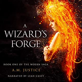 A Wizard's Forge audiobook cover art