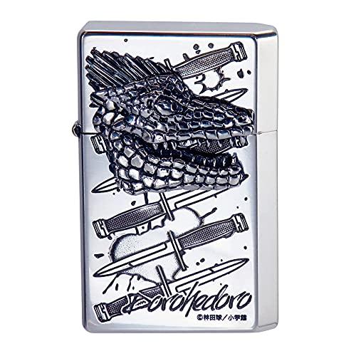 GEARTOP(ギアトップ) オイルライター シルバー ドロヘドロ カイマン エッチング メタル貼り いぶし仕上げ