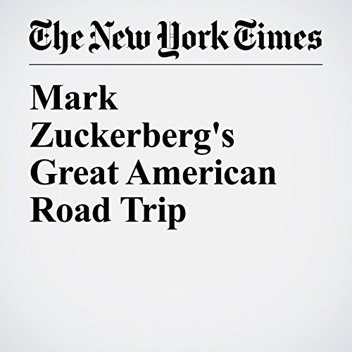 Mark Zuckerberg's Great American Road Trip copertina