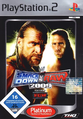 WWE Smackdown vs. Raw 2009 [Platinum]