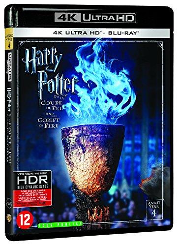 Harry Potter et la Coupe de Feu - Année 4 - Le monde des Sorciers de J.K. Rowling - 4K Ultra HD [4K Ultra HD + Blu-ray + Digital UltraViolet]