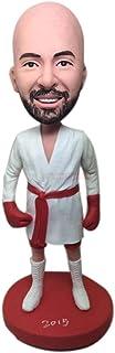 Man Boxing Bobble Head Boxer Personaggi personalizzati personalizzati Bobblehead Clay Figurine Boxer Birthday Cake Topper ...