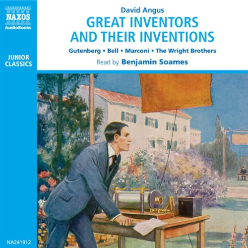 Great Inventors and Their Inventions audiobook cover art