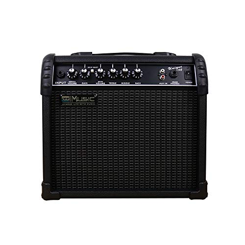 Find Discount Coolmusic Electric Guitar Amp 15W Amplifier Practice Home Amplifier Built In Speaker H...