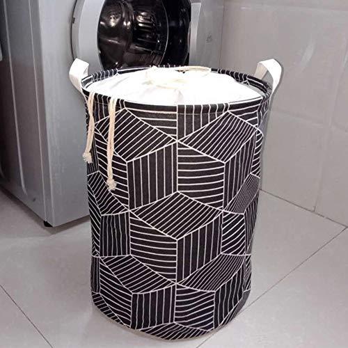 Souarts wasmand sorteerder opvouwbare waszak laundry Baskets stof huishouden organizer mand canvas 1PCS