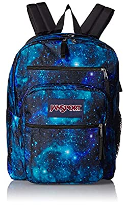 JanSport Big Student Backpack - 15-inch Laptop School Pack, Galaxy