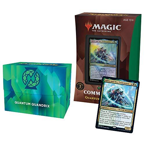 Magic The Gathering Strixhaven Commander Deck - Quandrix (Blue-Green)