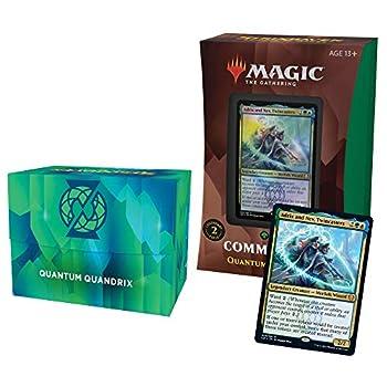 Magic The Gathering Strixhaven Commander Deck – Quantum Quandrix  Blue-Green