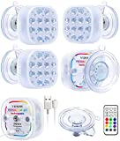 VIDOME Rechargeable Pool Lights For...