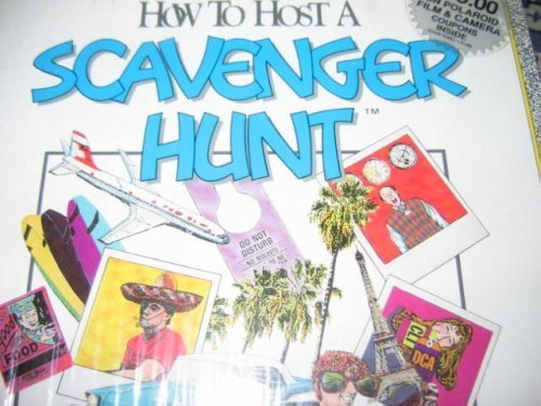 SCAVENGER HUNT  How to Host A Scavenger Hunt 1980 by Decipher