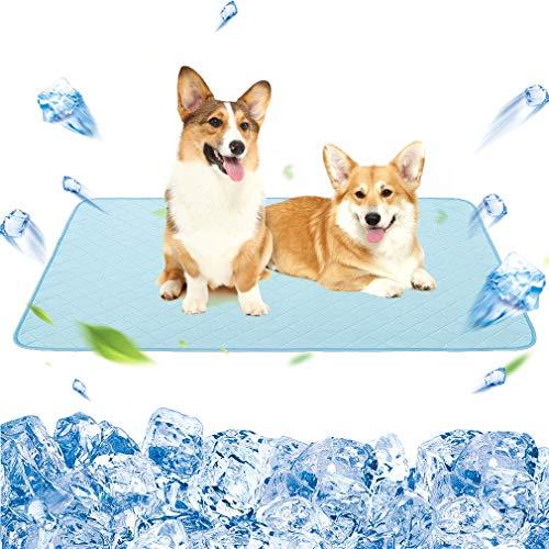 "KOOLTAIL Dog Self Cooling Mat - 48"" X 30"" Pet Summer Cooling Pads..."