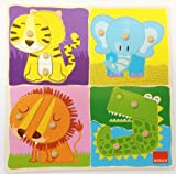 Goula Wooden Jungle Animals Puzzle (12 Pieces)