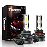 XIAORANA 9005 HB3 Kit De Conversión De Faro De LED 80W 80,00LM, 6000K Color Blanco Súper Brillante +200%, Plug and Play