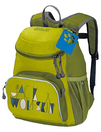 Jack Wolfskin Little Joe Kinderrucksack, kleiner Tagesrucksack für den Kindergarten, Wanderrucksack für Kinder mit breiten und bequeMen Gurten