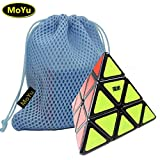 MoYu Pyraminx Speed Puzzle Cube Smooth Turning Cube Toy Black