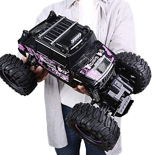 4times; 4WD de control remoto del coche camión de 1:14 s 38 kilometros 2.4Ghz / h de alta velocidad a distancia de las rocas de control Buggy Vehículo sobre orugas, Radio controlada adultos manía del