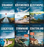 Nicolas Guerlain ermittelt 6 Normandie-Krimis im Set + 1 exklusives Postkartenset