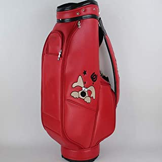 Golf Club Bag, Waterproof Material, Multi-Color Optional, 86×40×22cm happyL (Color : Red)