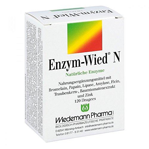 Enzym-Wied N natürliche Enzyme Dragees, 120 St. Tabletten
