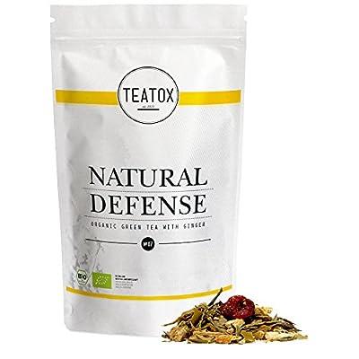 TEATOX Natural Defense, thé vert biologique avec gingembre