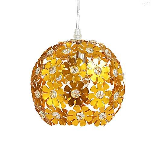 Hängeleuchte Pendelleuchte Kronleuchterform Pendelleuchten Kreative Aluminium Blume Weben Deckenleuchte Runde Kugel Pendelleuchte E27 Gold Kronleuchter Kronleuchter Pendelleuchten Hängeleuchten Lüster
