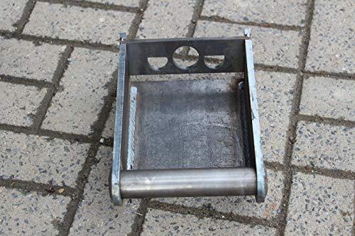 MS01 Anschweissrahmen mit Platte Adapter Schnellwechsler SW01