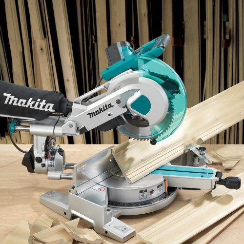 Makita LS1016L/2 Slide Compound Mitre Saw with Laser, 110V, 260mm