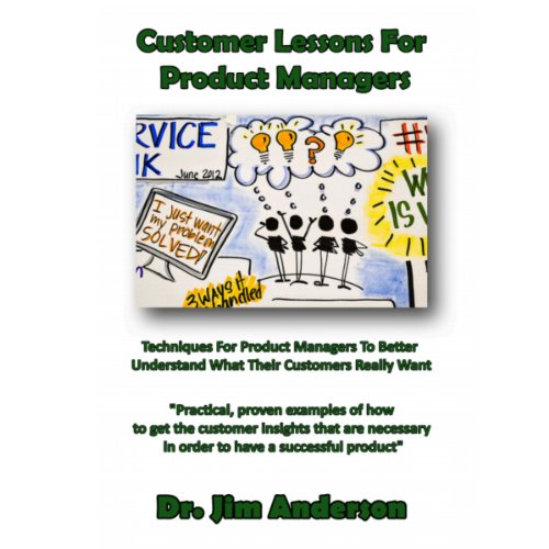 Customer Lessons for Product Managers audiobook cover art