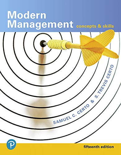 Download Modern Management: Concepts and Skills (15th Edition) (What's New in Management) 0134729137
