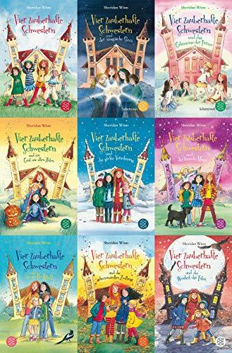 Vier zauberhafte Schwestern Band 1-9