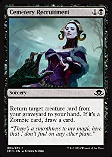 Magic: the Gathering - Cemetery Recruitment (083/205) - Eldritch Moon