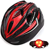 KIDS Helmet – Adjustable from Toddler to Youth Size, Ages 3 To 7 - Durable Kid Bicycle Helmets with Fun Racing Design Boys and Girls will LOVE - CSPC Certified for Safety (K12-1LightBlackRed)