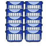 Piezas de repuesto para limpiador de 10 unids Hepa filtro Accessroies kit para iRobot fit para Roomba 600 Series 605 606 616 620 650 655 660 625 676 680 690 robot aspirador Accesorios