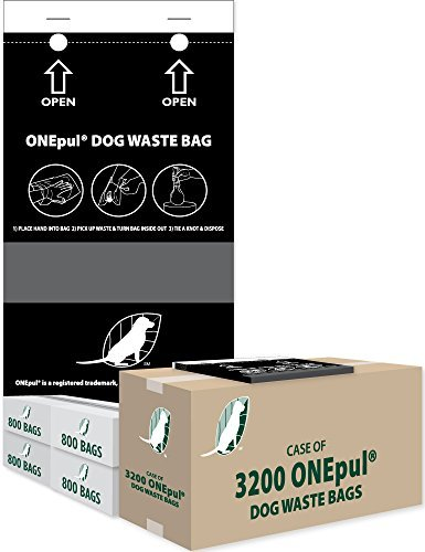 ZW USA INC OnePul Dog Waste Bags (1 case = 3200 OnePul Bags)
