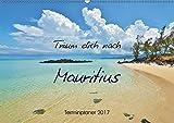 Träum dich nach Mauritius (Wandkalender 2017 DIN A2 quer): Traumstrände und Naturschätze (Geburtstagskalender, 14 Seiten ) (CALVENDO Orte)