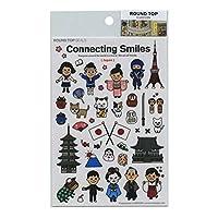 シール/ステッカー TIPS Connecting Smiles【日本編】 RT-CS-001