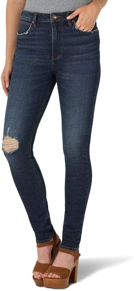Wrangler Women's Retro High Rise Skinny Green Jean