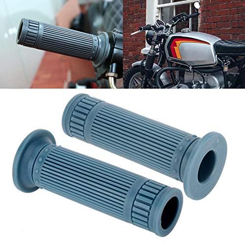 Qqmora Motorradteil Robuster Lenkergriff Zuverlässig für Motorroller für Langstreckenfahrten zum Schutz der Sicherheit bei Straßenfahrten(Blue)